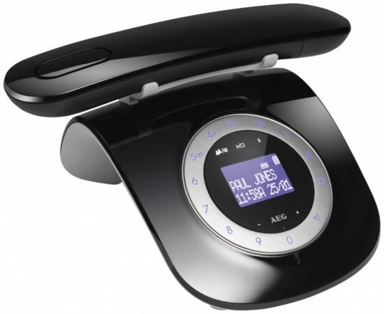 aeg beat 15 retro design telefon mit anrufbeantworter ebay. Black Bedroom Furniture Sets. Home Design Ideas