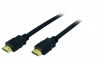 HDMI Kabel High Speed with Ethernet, vergoldete Kontakte, 10m