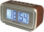 Roadstar CLR-2285/WD Retro Design Uhrenradio mit Digital Flip LCD Display
