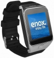 Enox Smartwatch SWP55 in Silber Farbe
