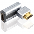 Drehbarer High Speed HDMI® Adapter mit Ethernet