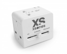 XSories Roamx Cube Universal Reise Adapter Weiss