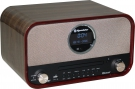 Roadstar HRA-1782D+BT Retroradio mit Bluetooth & DAB, CD/MP3, USB