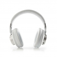Nedis HPBT5260WT Funkkopfhörer | Bluetooth® | Over-Ear | Aktive Lärmkompensation (ANC) | Weiß