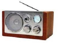 Roadstar HRA-1200 Grau Retro Design Radio