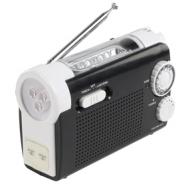 Dynamo Radio mit Taschenlampe