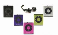Denver MPS-204C Mini MP3 Player mit 2GB Silber