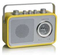 tangent UNO2GO Retro Transistorradio portable in Gelb
