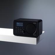 Sailor Concerto 7 Retro Wi-Fi Internet & DAB+ Radio Schwarz