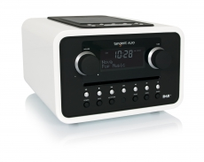 tangent ALIO DAB+/CD Retro FM Radio in Weiss