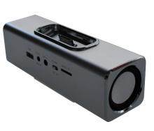 MusicMan Docking Stereolautsprecher/Soundstation Silber