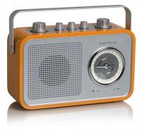 tangent UNO2GO Retro Transistorradio portable in Orange