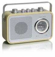 tangent UNO2GO Retro Transistorradio portable in Cafe Latte