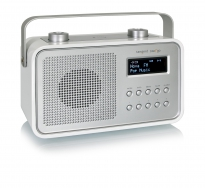 tangent DAB2GO Retro Transistorradio portable in Weiss