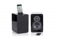 tangent EVO E4i Aktives Stereo Lautsprechersystem mit iPhone/iPod Dockingstation