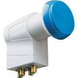 Smart BlueCap BCQS Quad-LNB (mit Switch) für 4 Teilnehmer