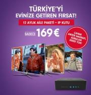 Digitürk Play IP TV Aile Paketi WebTV 12 ay icinde + IP Receiver