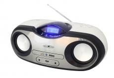 Reflexion CDR007BT Boombox mit Bluetooth/CD/MP3/USB/AUX-IN