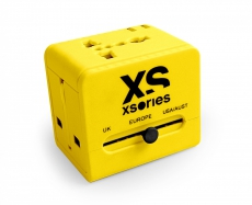 XSories Roamx Cube Universal Reise Adapter Gelb
