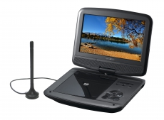 Reflexion DVD9017 portabler 9 LCD-Bildschirm mit DVD-Player und DVB-T2 HD Tuner