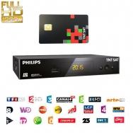Philips DSR3231T HDTV Sat Receiver für TNTSAT mit Karte