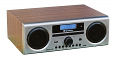 Roadstar HRA-9D+BT wd DAB+/DAB/UKW-Radio mit Bluetooth, MP3/CD, USB