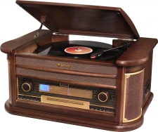 Roadstar HIF-1903NTUMPK Retro HiFi System mit ENCODING Funktion