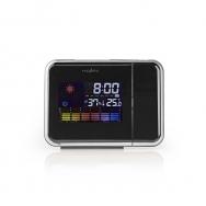 nedis Projektionsuhr mit Alarm, Hygrometer und Wettervorhersage