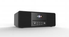 Reflexion HRA19INT Internet/DAB+/DAB/UKW-Radio mit Bluetooth, MP3/CD, AUX-IN grau/anthrazit
