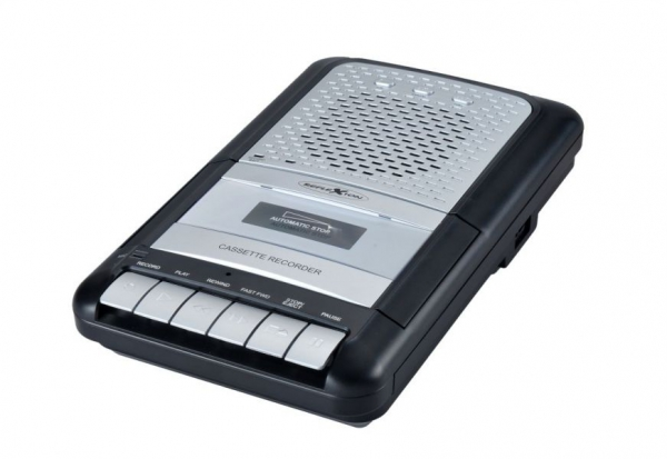 reflexion ccr8012 tragbarer kassettenrecorder mit ukw mw. Black Bedroom Furniture Sets. Home Design Ideas