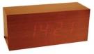 Design Wecker im Holzgehäuse in Kiefernholz