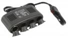 4-fach KFZ-Verteiler 12V + USB