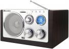 Roadstar HRA-1220 Retro Design Radio mit USB und Kartenslot