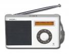 Sailor SA-123 portable FM Radio mit DAB und DAB+ in Weiss
