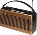 Roadstar TRA-1967 Schwarz Retro Radio Vintage