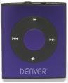 Denver MPS-204C Mini MP3 Player mit 2GB Lila