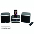 Logic3 WIS019K i-Station Tower Docking Station mit FM Radio