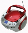 Roadstar CDR-4500U CD / MP3 / USB Boombox Red