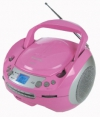 Roadstar CDR-4500U CD / MP3 / USB Boombox Pink