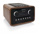 tangent ALIO CD/FM Radio in Wallnuss, Retro  Design, Dockingstation