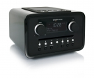 tangent ALIO CD/FM Radio in Schwarz, Retro Design, Dockingstation