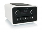 tangent ALIO CD/FM Radio in Weiss, Retro Design, Dockingstation