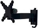 Universal Wandhalterung H4-1SL Schwarz
