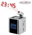 Uhrenradio mit Projektion, Dual Alarm, Thermometer, Funkuhr
