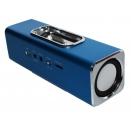 MusicMan Docking Stereolautsprecher/Soundstation Blau