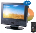 Reflexion TDD1035 Portable LCD-TV mit DVB-T, DVD Player 12V & Akku