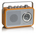 tangent UNO2GO Retro Transistorradio portable in Orange