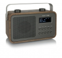 tangent DAB2GO Retro Transistorradio portable in Braun