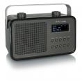 tangent DAB2GO Retro Transistorradio portable in Schwarz