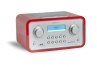 tangent Trio DAB+ Retro Radio in Rot